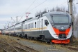 Electric DC train ED4М enhanced comfort production run 0500 with energy-saving traction electrical equipment